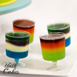 1st-birthday-jello-cups-little-monsters-theme