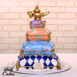 arabian-night-40th-birhday-cake