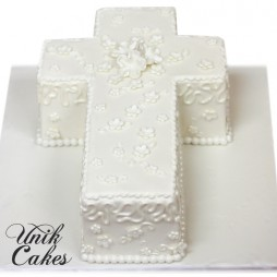 Babtism-cross-cake