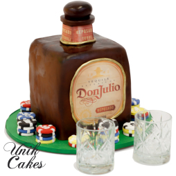 Don-Julio-tequila-bottle-birthday-cake