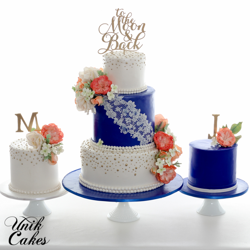 Wedding Cake Ideas Royal Blue: Wedding & Speciality Cakes