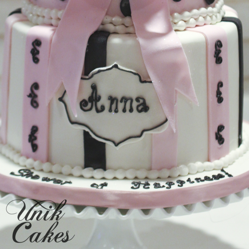 Paris Baby Shower Cake: Wedding & Speciality Cakes