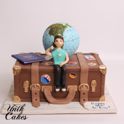 Travel suitcase cake (2)