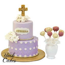 christening-cake-with-flowers