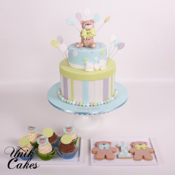 little bear 1st birthday cake (1)