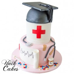 Graduation Cake For A Nurse