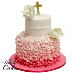 ombre-christening-cake