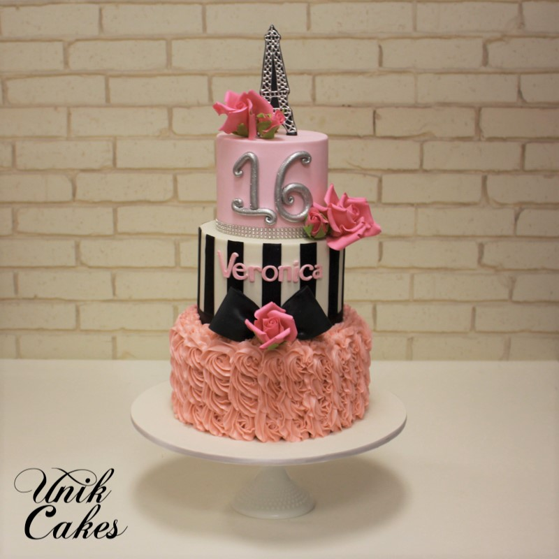 Unik Cakes Wedding  Speciality Cakes Pastry Shop - Sweet 16 birthday cakes