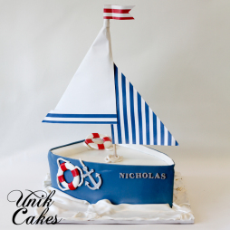 sailboat-birthday-cake