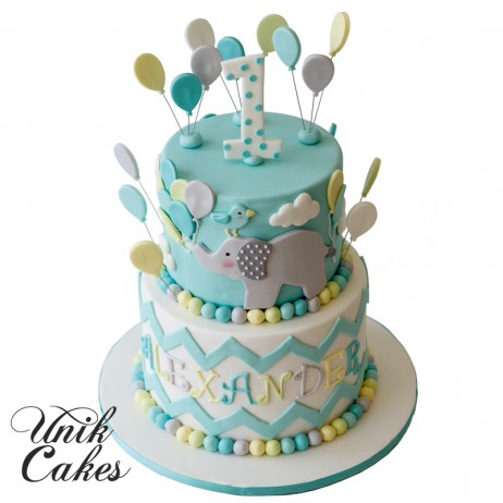 elephant birthday cake unik cakes wedding amp speciality cakes pastry shop 3873